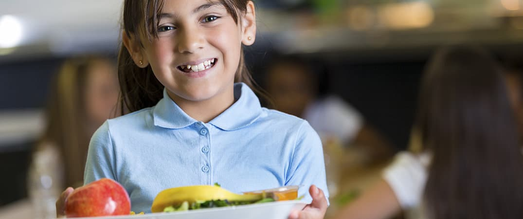 A healthy diet for underprivileged children
